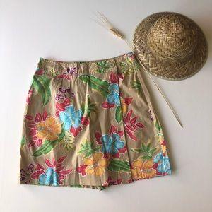 White stage short/ skirt